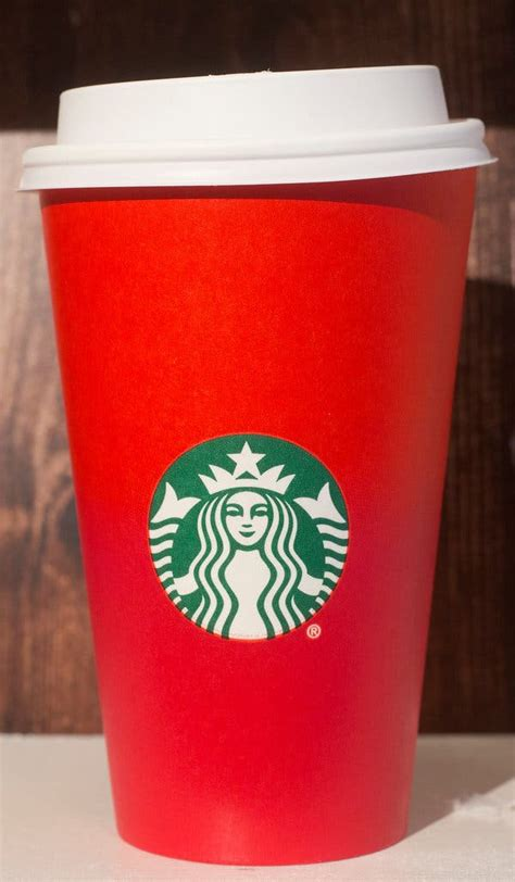 starbucks  criticized   holiday cups     york times