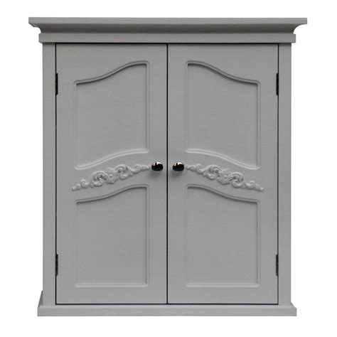 elegant bathroom cabinets elegant home fashions venice 22 in w x 24 in h x 8 in d