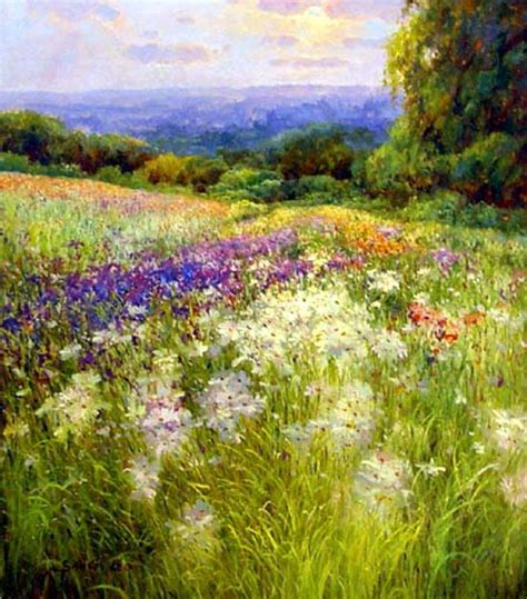 Garden Of Oils by Garden Painting 112 Jpg 550 215 626 Paintings Gardens Flower And Flowers Garden