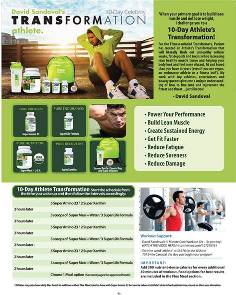 Detox Diet For An Athlete by 10 Day Athletes Transformation Cleanse 50 Here