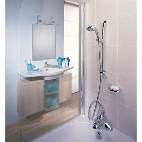 bath mixer with shower mira excel bath shower mixer with adjustable showerhead