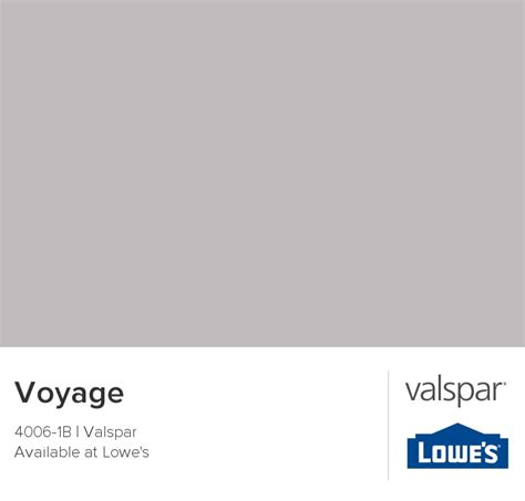voyage from valspar house colors