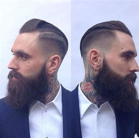 duck dynasty hair cut ricki hall with a fresh trim full thick dark beard