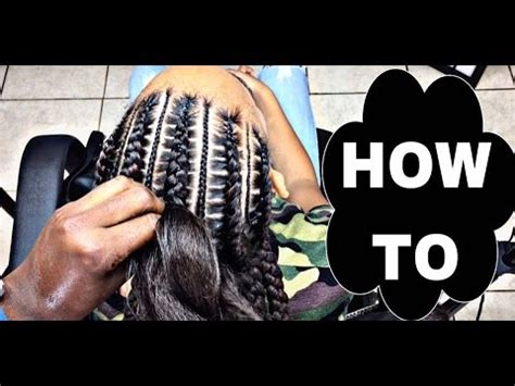 #194. stitch braids 4 beginners youtube