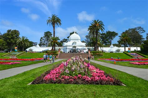 Traveling Back In Time At The Conservatory Of Flowers Golden Gate Park Flower Garden