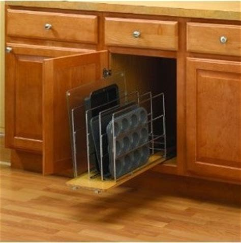 kitchen cabinet divider organizer 9 quot knape vogt tdro tray divider roll out wood wire