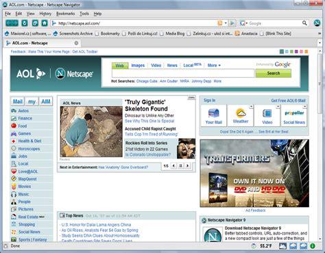 aol netscape netscape navigator