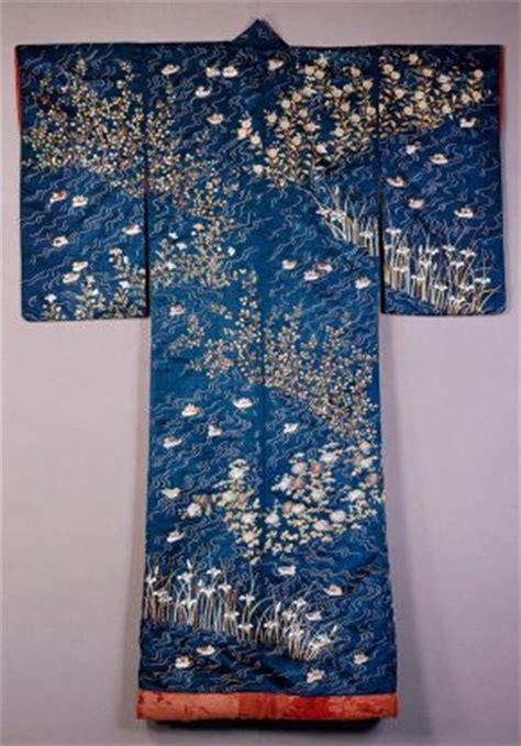 kimono water pattern making kimono victoria and albert museum