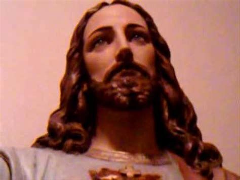 a miraculous video of a sacred heart statue youtube