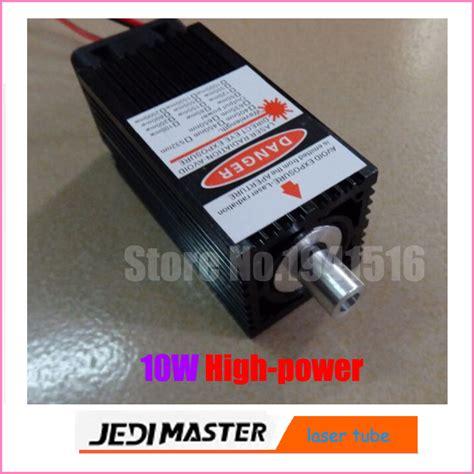 high power diode laser engraver 10w high power 450nm focusing blue laser module laser engraving and cutting ttl module 10000mw