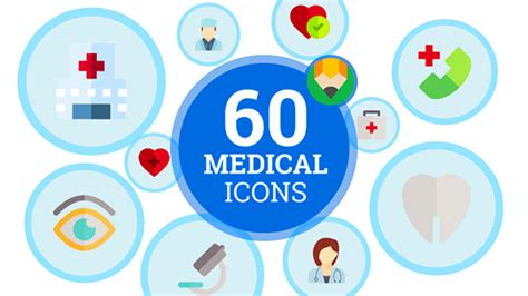 Animated Icons Medical Healtcare Pack After Effects Template Videohive 19521647 After Animated Emoticons Pack After Effects Template