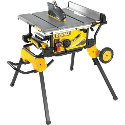 dewalt saw bench stand dewalt dwe7491 250mm table saw with rolling stand 240v