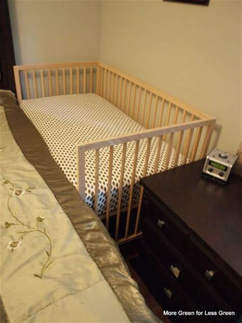 side crib attached to bed crib part 3 turn a crib into a side car co sleeper