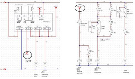 schema electrique chambre froide resotech cours