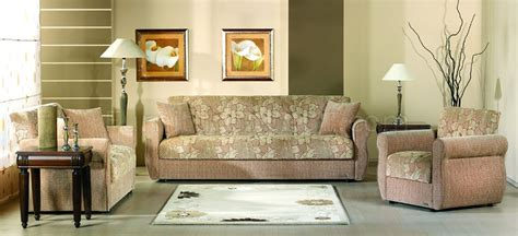 two tone living room furniture contemporary two tone fabric living room w storage sleeper