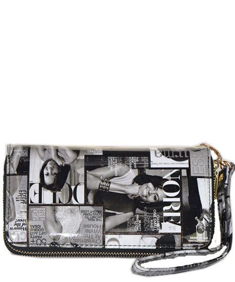 Handbag Wallet Black magazine fashion wallets black and white wholesale