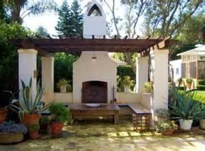 Backyard Casita Plans Pergola Spanish Style House Spanish Homes Pinterest