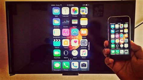 Iphone To Tv Screen Mirroring With Iphone Wirelessly No Apple Tv Needed