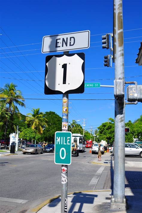 To 1 Mile by The Overseas Highway To Key West Florida