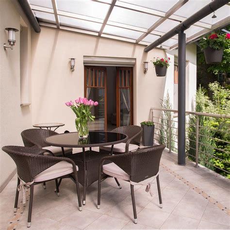 terrasse zum wintergarten lichtplatten g 252 nstige alternative zum wintergarten