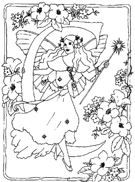 coloring pages fairy tales az coloring pages