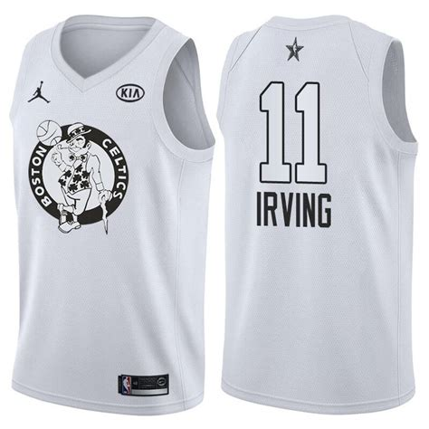Jersey Nba Irving 11 Promo Thailand cheap 2018 all jersey 11 kyrie irving white jersey for sale