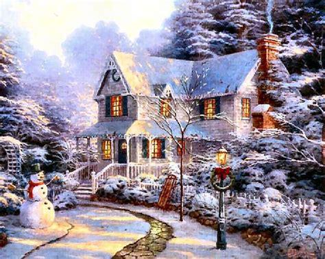 thomas kinkade christmas houses thomas kinkade christmas houses beneconnoi