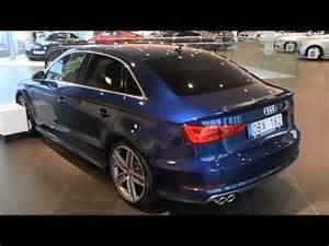Scuba Blue Audi A3 2014 Audi A3 Sedan Scuba Blue Walkaround