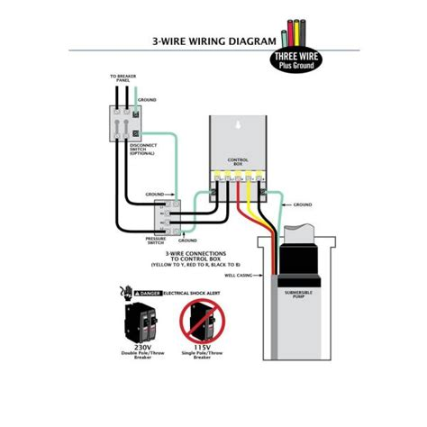 3 wire submersible wiring diagram efcaviation