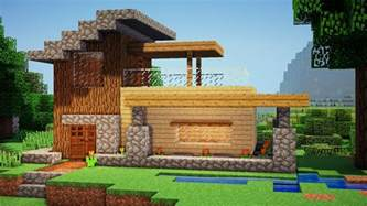 how to make a house minecraft easy wooden house tutorial how to build a