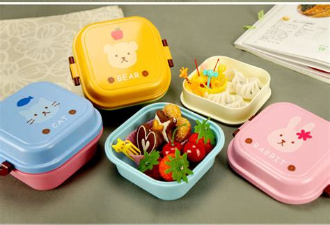 Fukorou 2 Layer Lunch Box 2015 microwave plastic bento lunch box for 2 layer