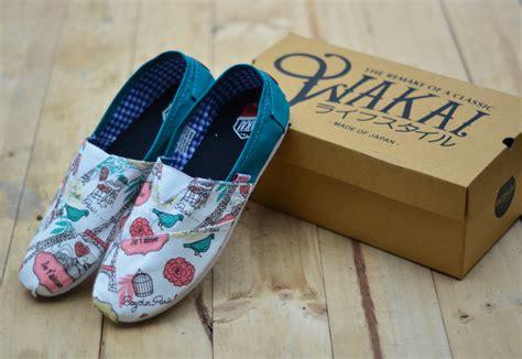 Sepatu Wakai Motif Cewek spatu wakai daftar harga terbaru terlengkap indonesia
