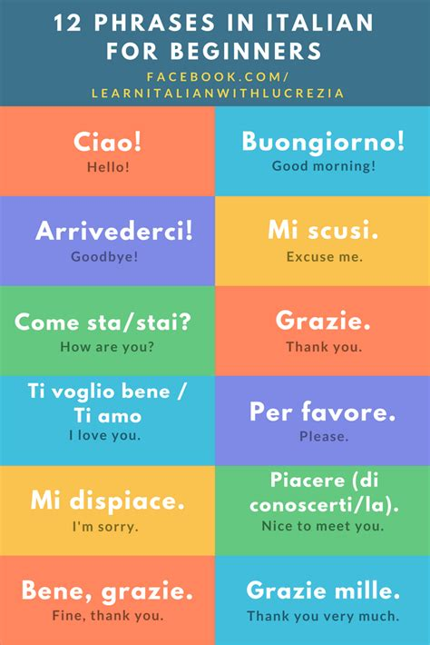 best way to learn italian for travel 12 italian phrases for beginners learn italian with lucrezia