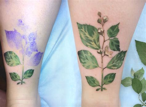 kit x tattoo live leaf tattoos by rit kit scene360