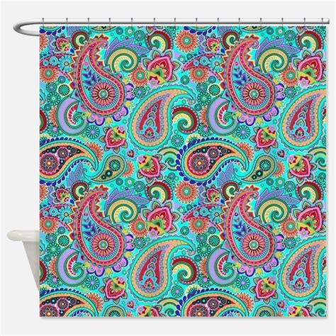 turquoise paisley curtains turquoise paisley shower curtains turquoise paisley