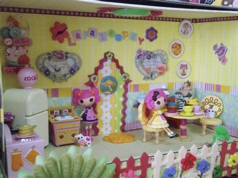 lalaloopsy doll houses lalaloopsy dollhouse diy karissas board pinterest