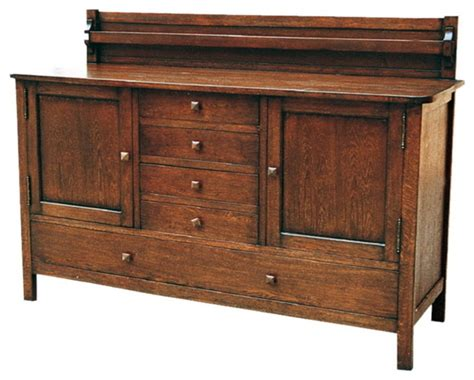mission oak buffet mission oak sideboard buffets and sideboards by