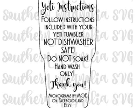 cricut printable vinyl instructions tumbler cup care card instructions print and cut file