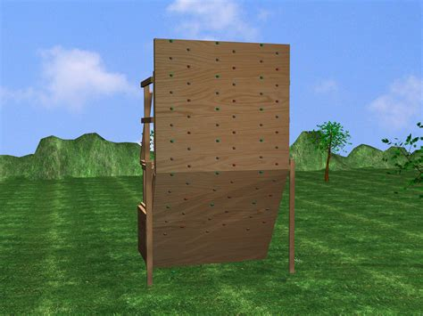 backyard bouldering wall how to build a climbing wall 10 steps with pictures