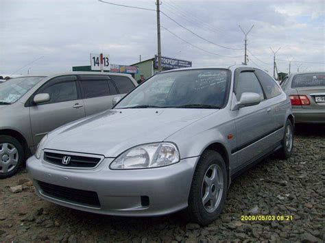 2000 Honda Civic Coupe by 2000 Honda Civic Coupe Pictures 1 5l Gasoline Ff