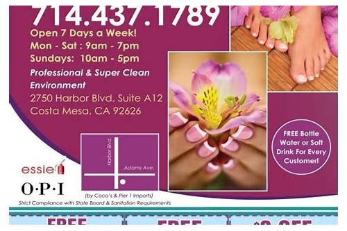 coupons nail salons