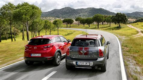 mazda mini cara a cara mazda cx 3 vs mini countryman 161 estilazo