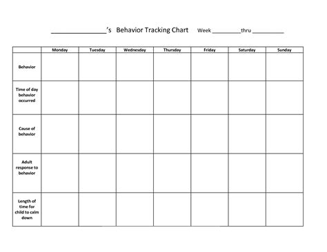 printable behavior charts related keywords suggestions