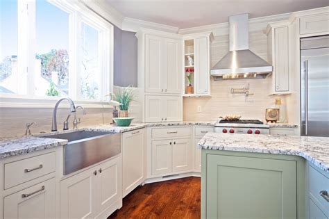 white kitchen cabinets with quartz countertops kitchen