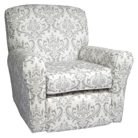 Reclining Glider And Ottoman For Nursery by Castle Reclining Swivel Glider The Linen Bordeaux