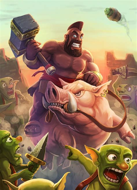Kaos Anime Coc Clash Of Clans Clash Royal Android a collection of stunning clash royale fan news www gameinformer