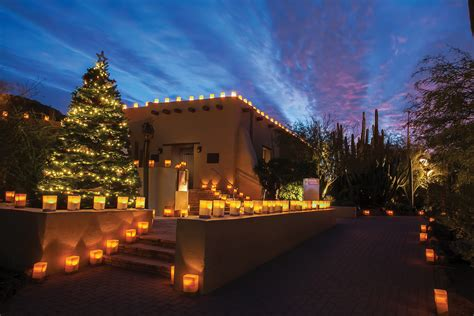 Desert Botanical Garden Luminaria La Noches De Las Luminarias The Saguaro Scottsdale