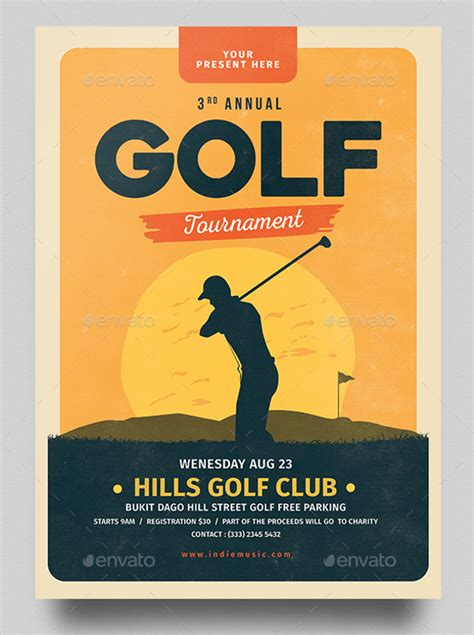 golf tournament flyer template 22 golf flyer templates free psd ai eps format