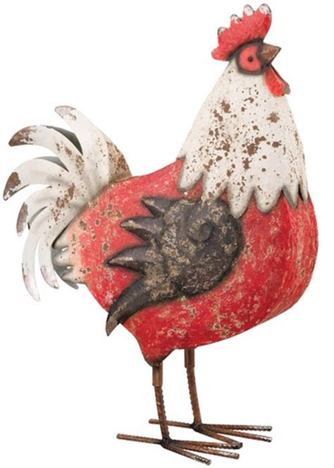 Rooster Decor 17 Quot Country Rooster Decor White Only 42 95 At