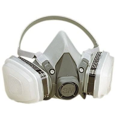 3m 6000 series half mask paint spray/pesticide respirator